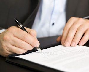 Как составить заявление при расторжении договора по инициативе работника?